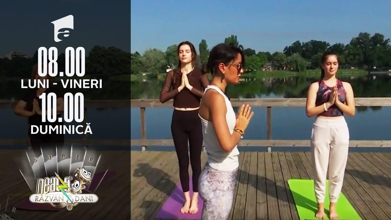 Ziua Internațională Yoga, sărbătorită prin exerciții în aer liber