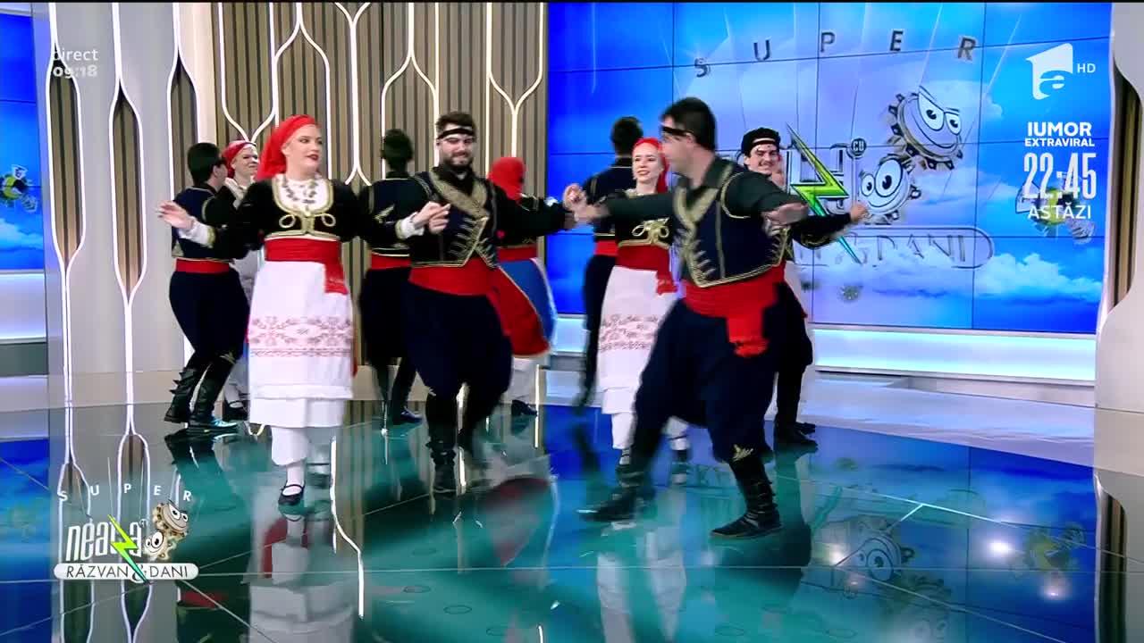 Super spectacol grecesc, la Neatza