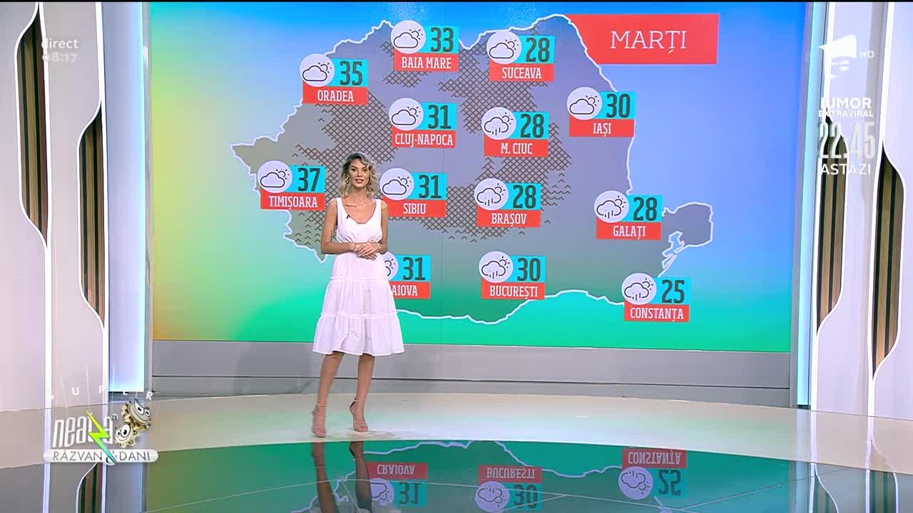 Prognoza Meteo, 22 iunie 2021. Se anunță vreme călduroasă în majoritatea zonelor țării!