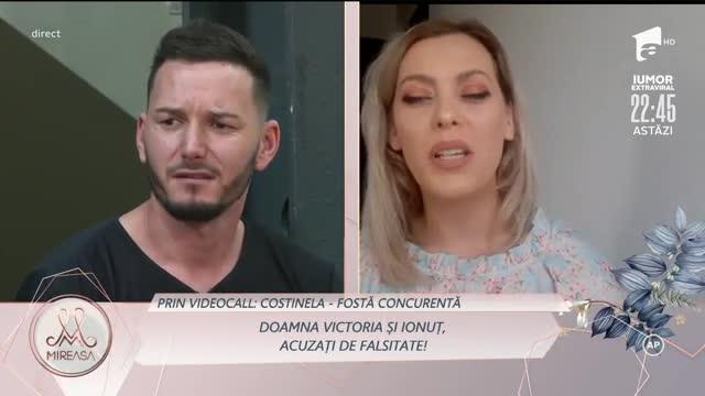 Costinela, noi acuzații la adresa lui Ionuț: La mare nu am făcut dragoste!