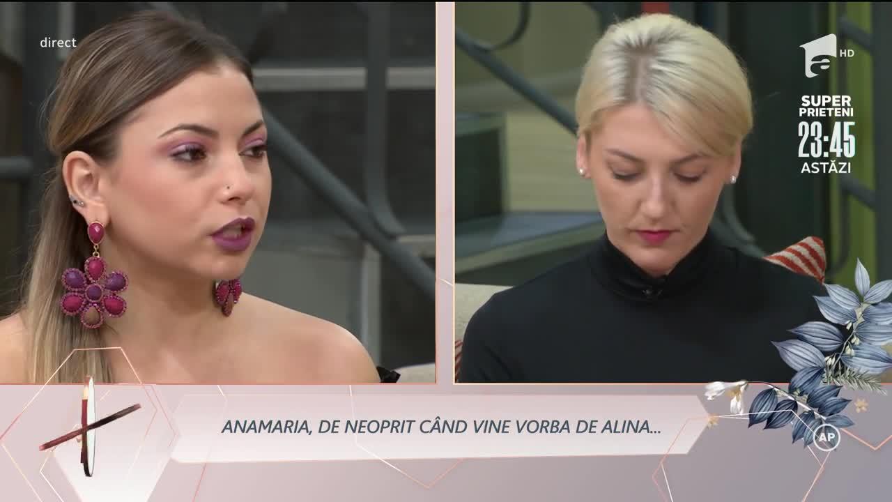 """Replici acide între Alina și Anamaria: """"Muriți și vă ofticați că nu am plecat când ați vrut voi"""""""