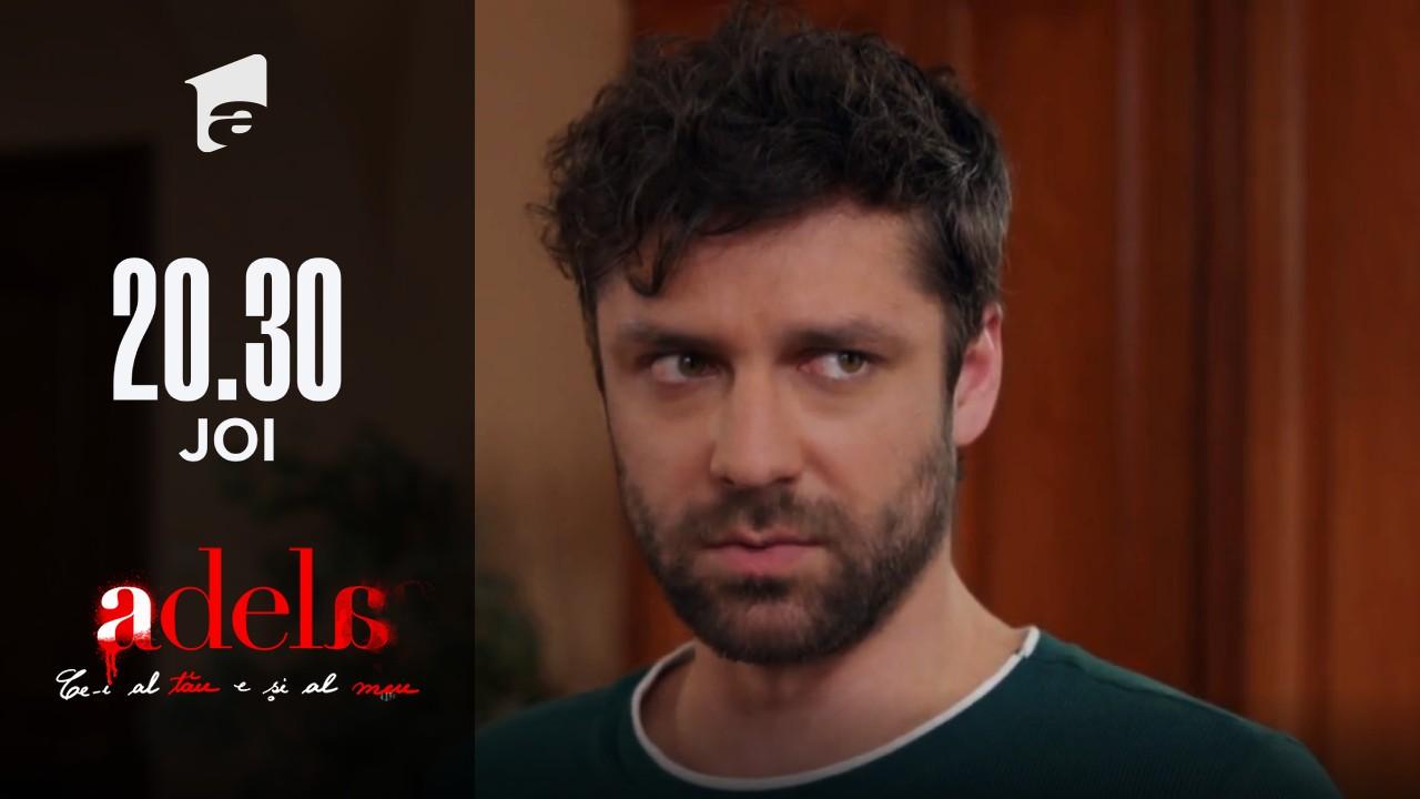Adela, episodul 47. Mihai este hotărât să redeschidă procesul, dacă mama lui Paul își va reveni: Măcar o zi să facă închisoare!