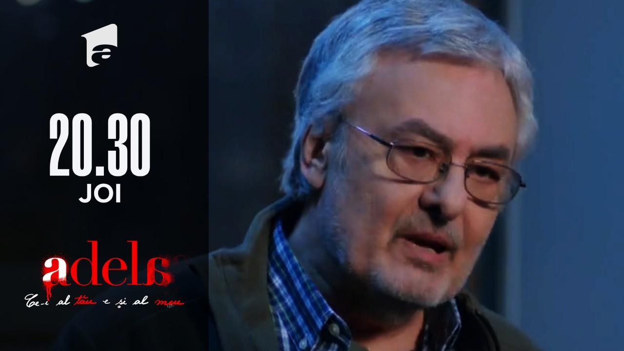 Adela, episodul 47. Nea Gheorghe dezvăluie un mare secret: Mihai are un frate și trăiește!