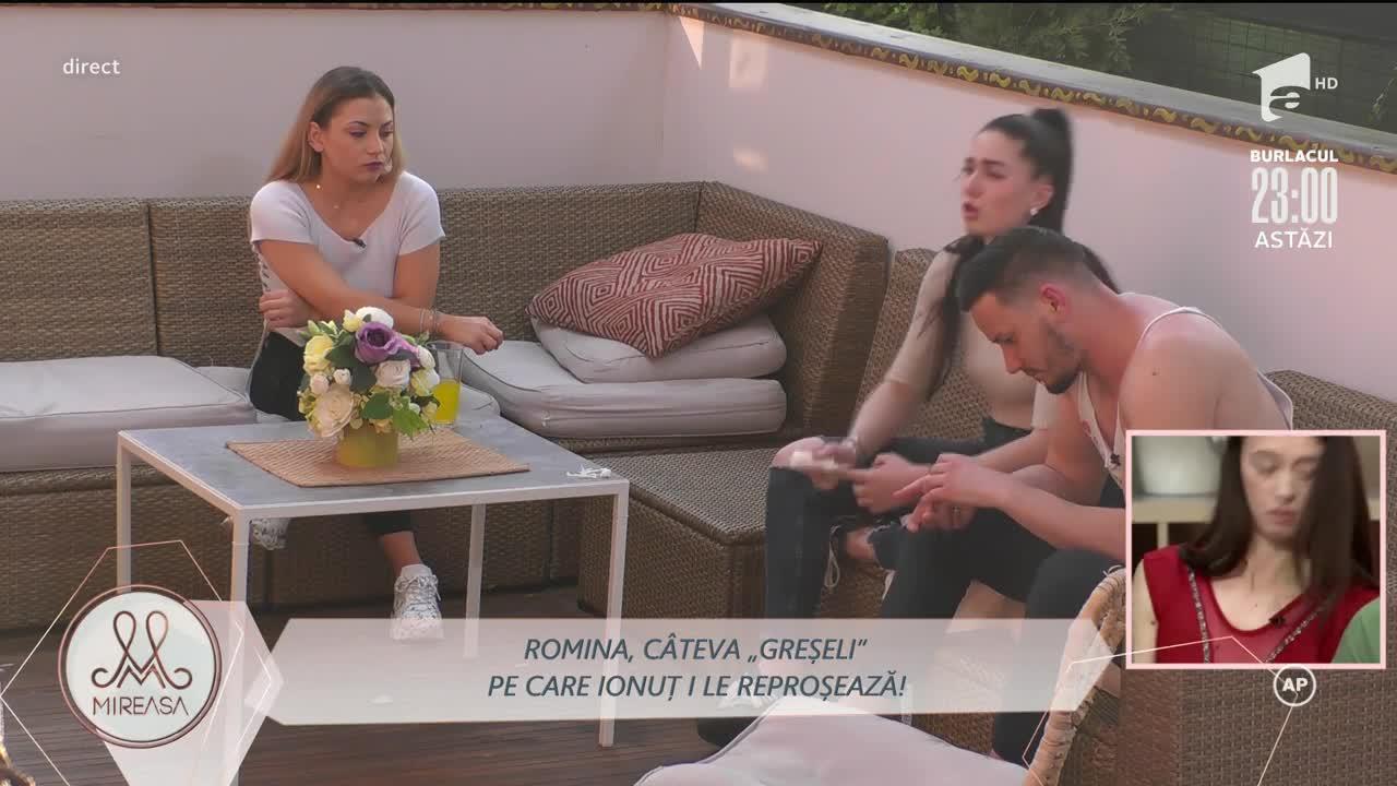 Romina, încurajată de Ionuț să o evite pe mama lui!
