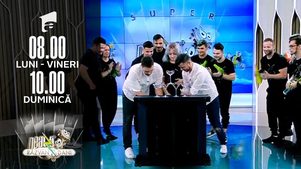 Super show de Flair Bartending, la Neatza, cu Luca Valentin și elevii săi!