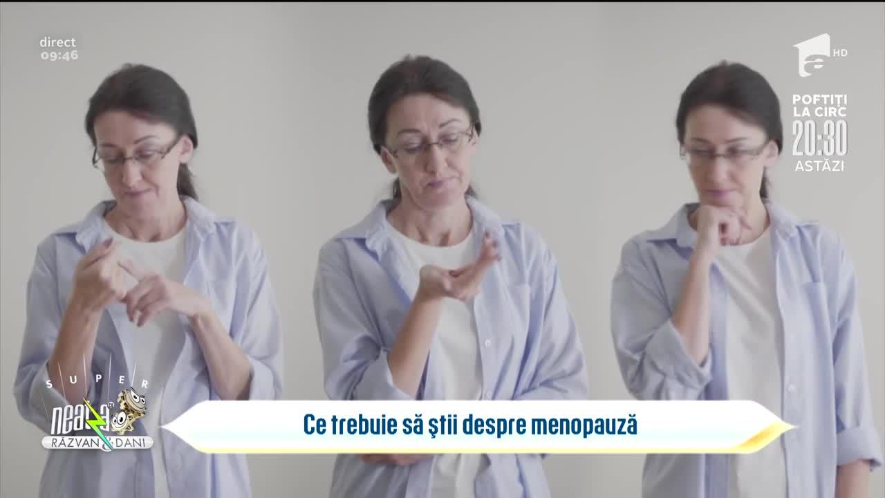 Bună dimineața, sănătate! Totul despre menopauză