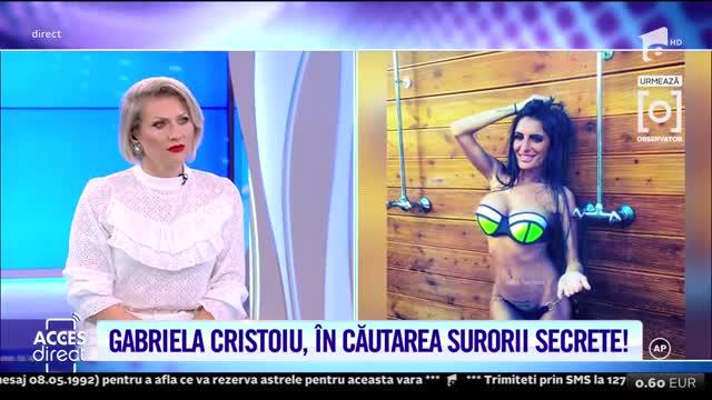 Gabriela Cristoiu, sătulă de singurătate!
