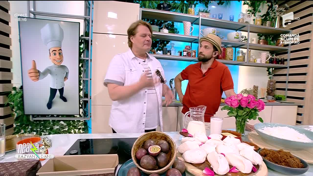 Înghețată Pavlova, rețeta lui Vlăduț de la Neatza cu Răzvan și Dani