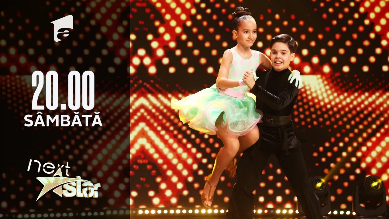 Next Star - Sezonul 10: Diana Săndulescu și Rareș Drăguțescu - Moment de dans sportiv