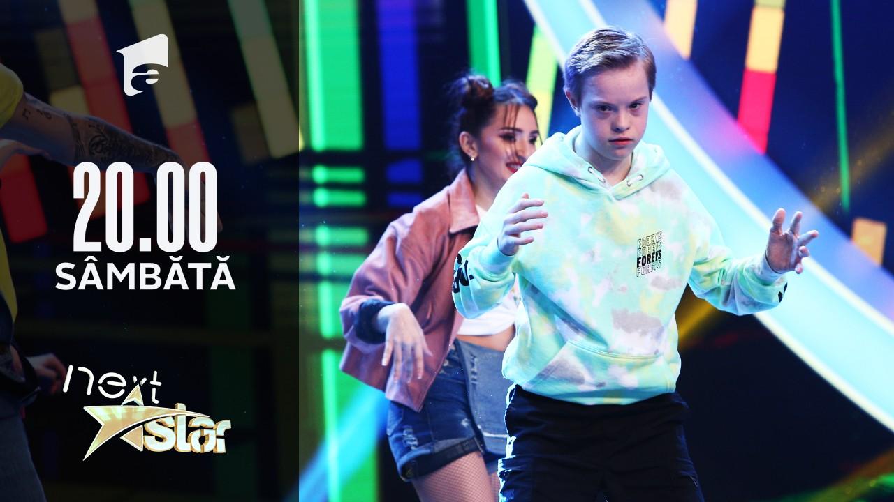 Next Star - Sezonul 10: Vlad Negoiță - Moment de dans