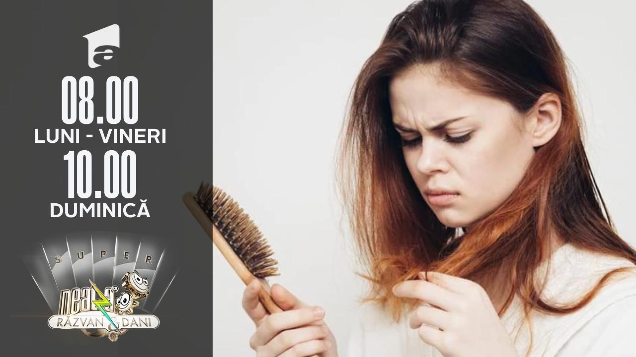 Cum oprim căderea părului. Cele mai eficiente soluții