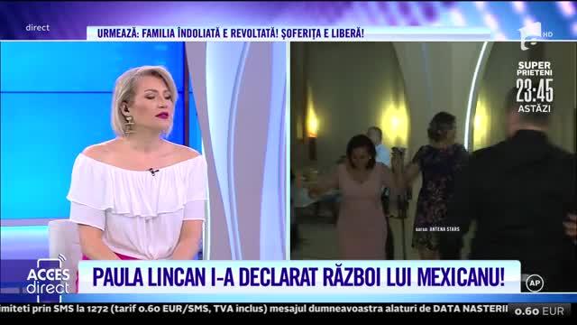 Paula Lincan, în război cu Marian Mexicanu. Cum s-a ajuns în această situaţie
