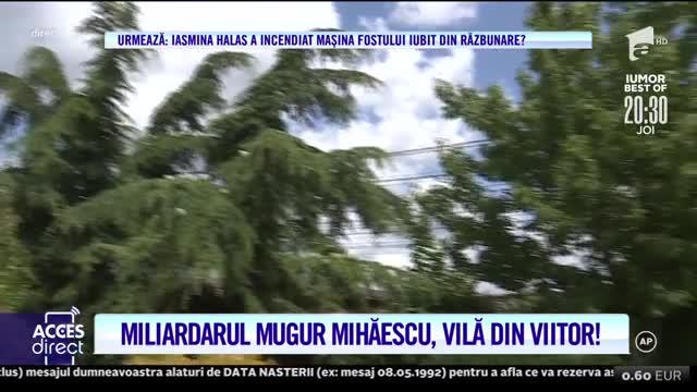 Miliardarul Mugur Mihăiescu, vilă din viitor