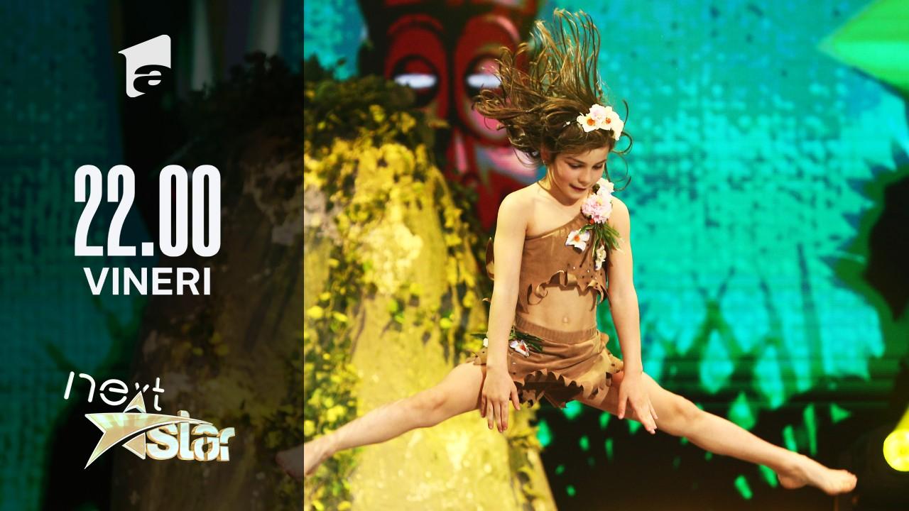 Next Star - Sezonul 10: Denisa Bălan – moment de teatru și acrobație