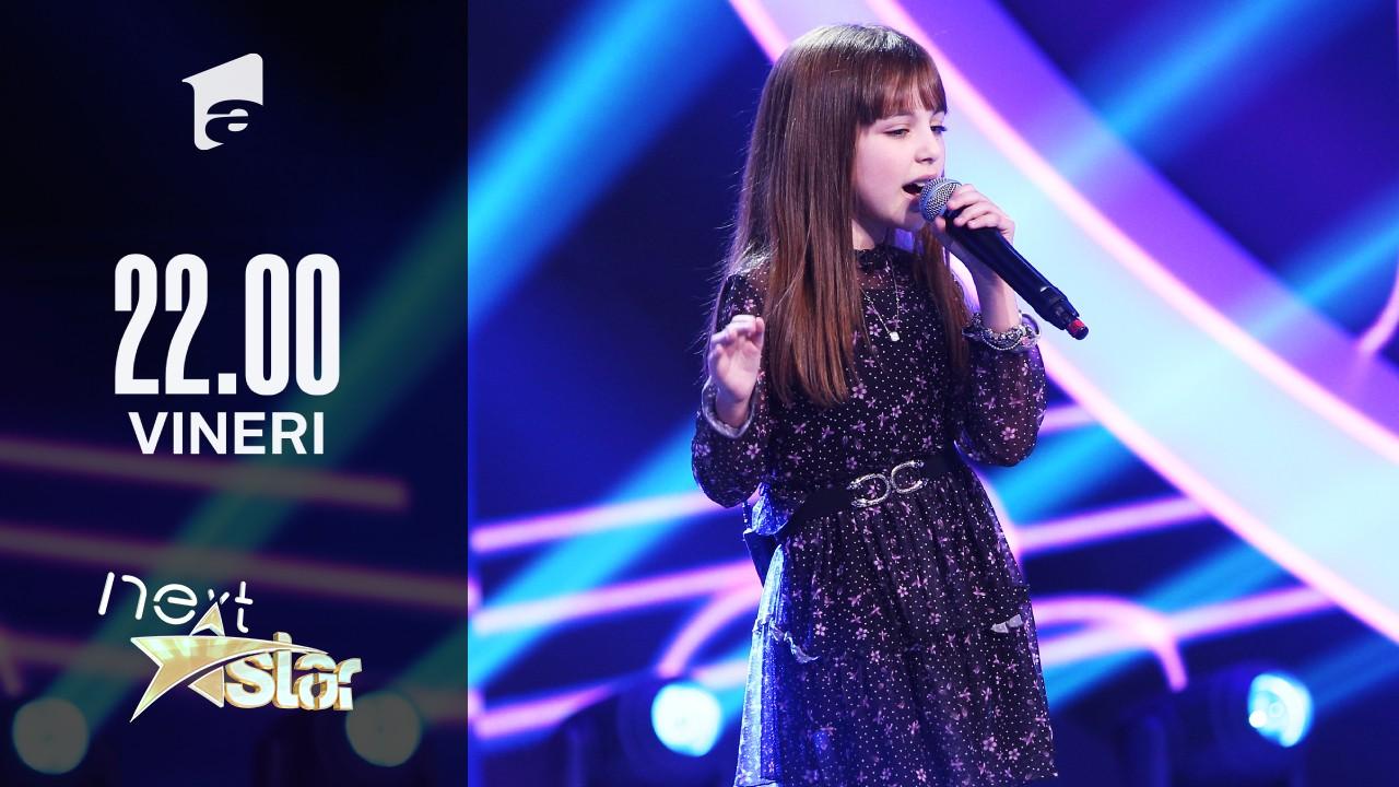 Next Star - Sezonul 10: Beatrice Pleșa - moment muzical și moment de dans