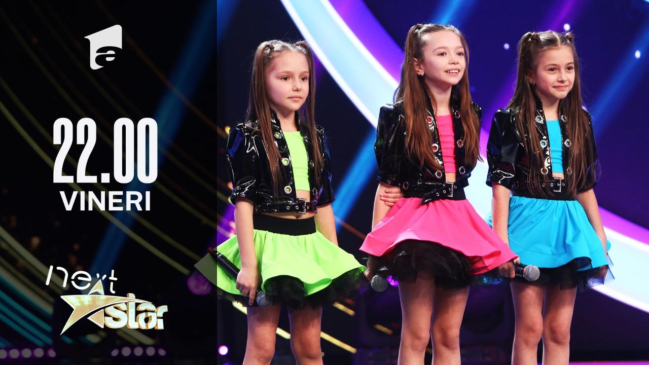 Next Star - Sezonul 10: New Lucky Girls – moment de muzică și dans în trupă