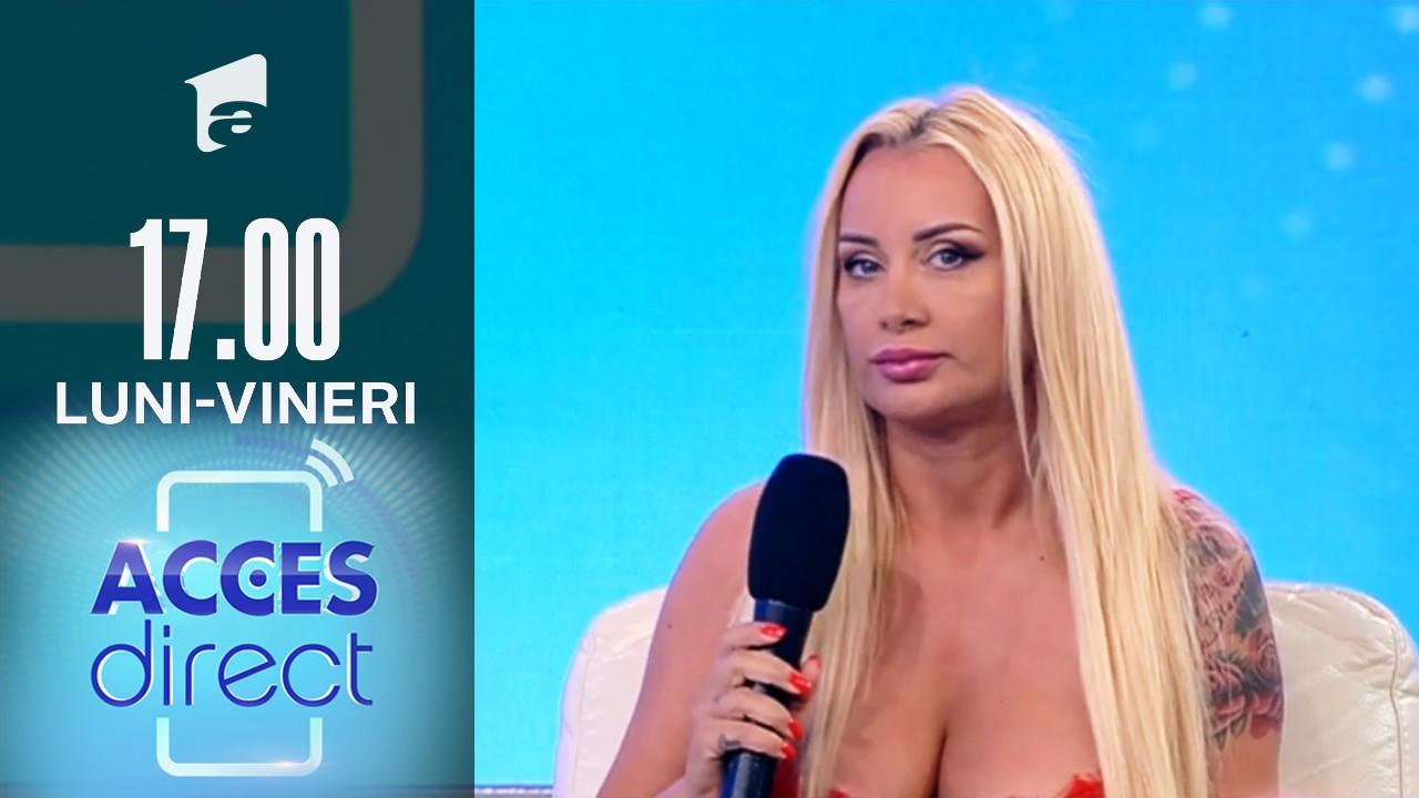 """Acces Direct, 12 iulie 2021. Simona Traşcă este amenințată de un obsedat: """"Te iubesc!"""""""