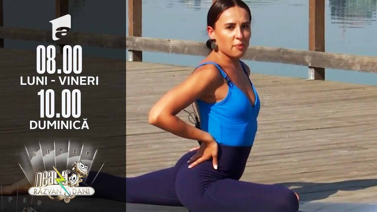 Super Neatza, 12 iulie 2021. Yoga pentru începători! Trei exerciții pe care oricine le poate încerca
