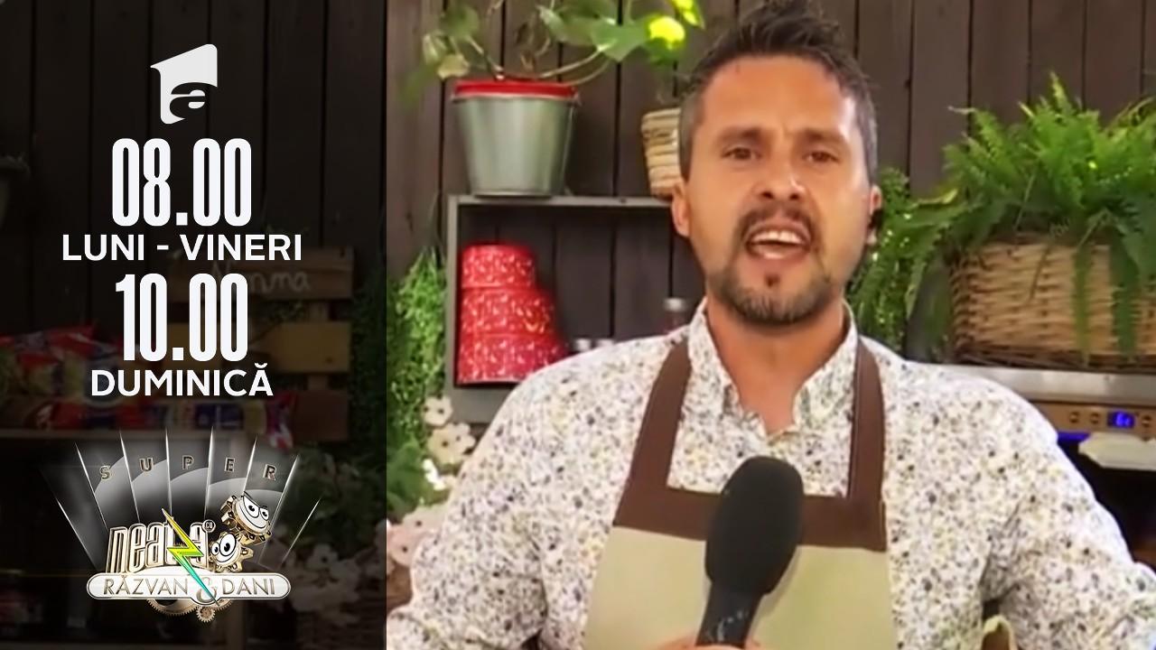Super Neatza, 15 iulie 2021. Marian Duță se apucă de bucătărie! Ce ne pregătește