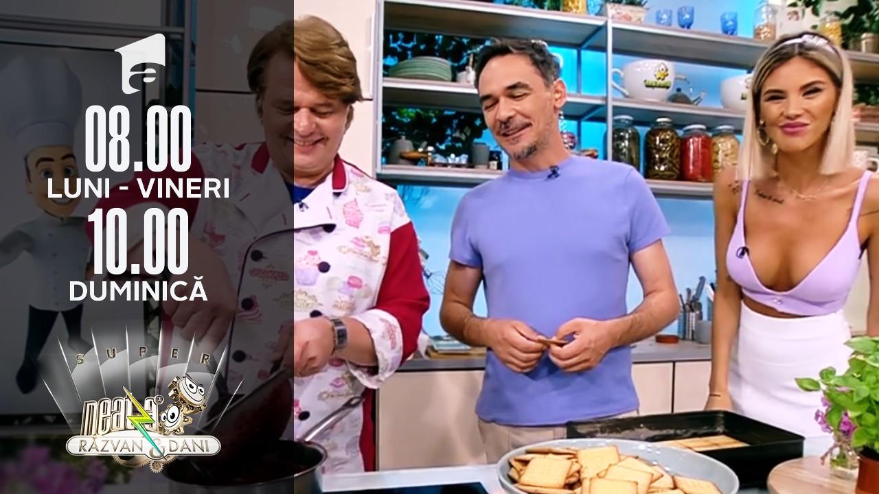 """Super Neatza, 15 iulie 2021. Prajitura """"Bună DimiNeatza"""", desertul de vineri al lui Vlăduț"""