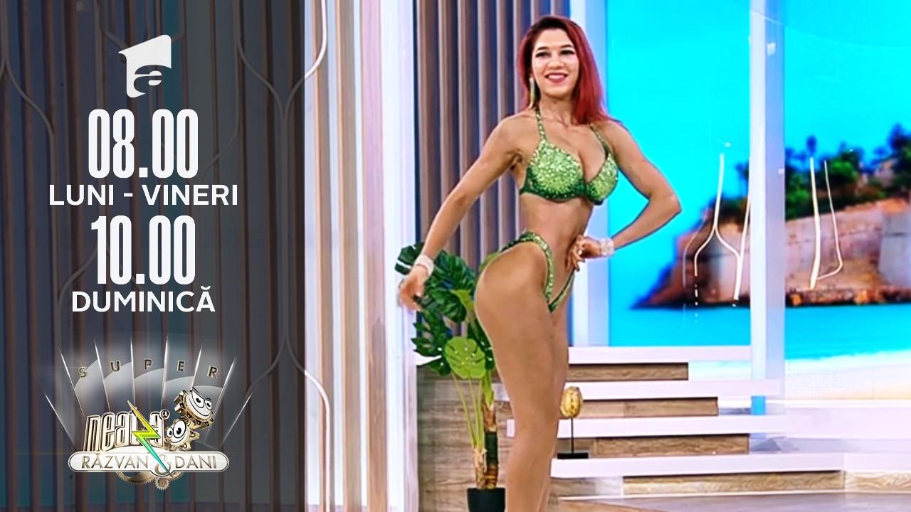Super Neatza, 20 iulie 2021. Diana Pivniceru şi Corina Petruţ, campioanele României la Culturism şi Fitness