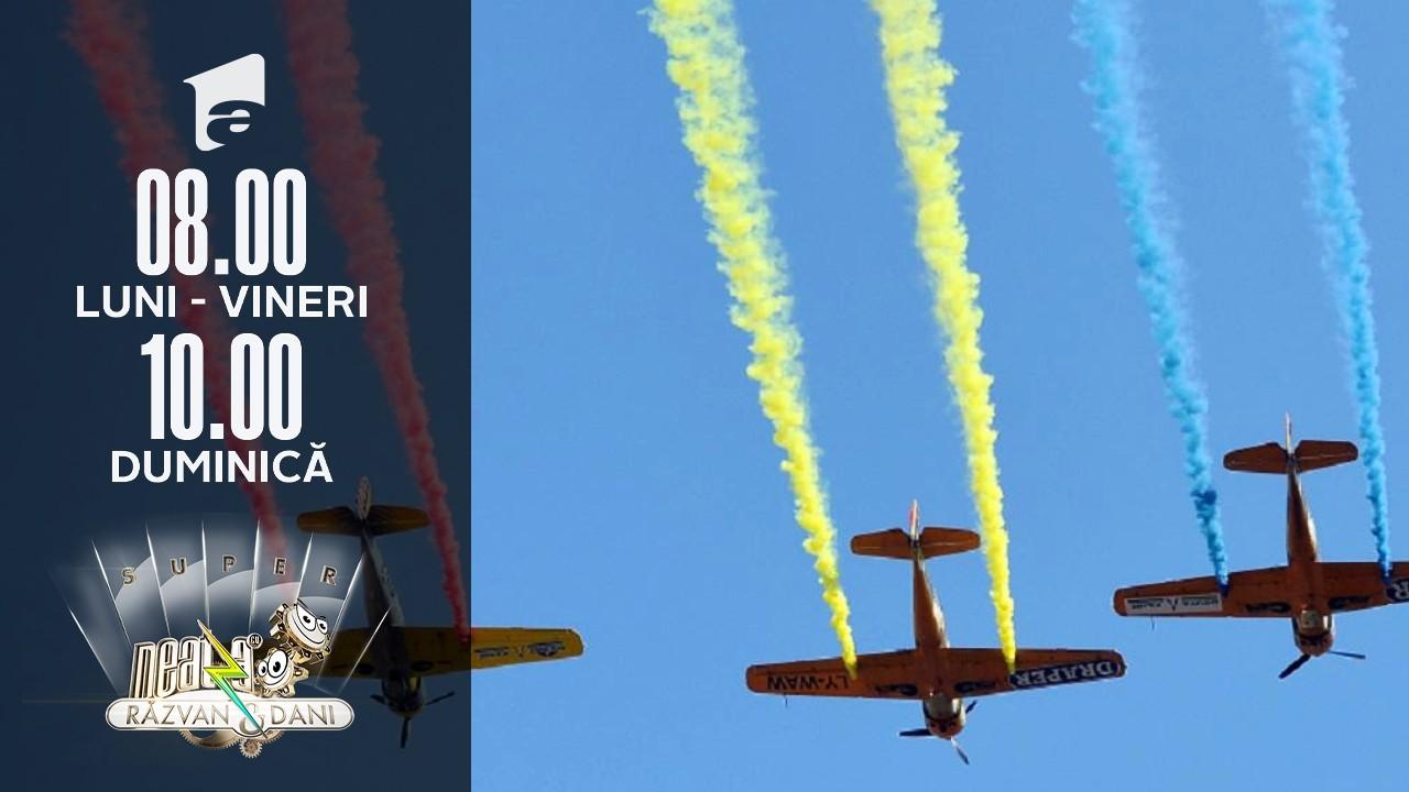 Super Neatza, 20 iulie 2021. Ziua Aviației Române, sarbatorită pentru prima dată fără paradă aviatică