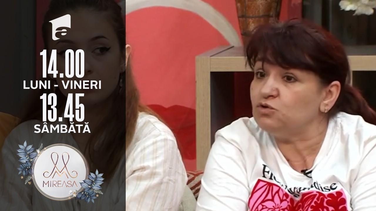 Mireasa Sezonul 3, 22 iulie 2021. Doamna Daniela a fost acuzată că s-a purtat urât cu Adelina!