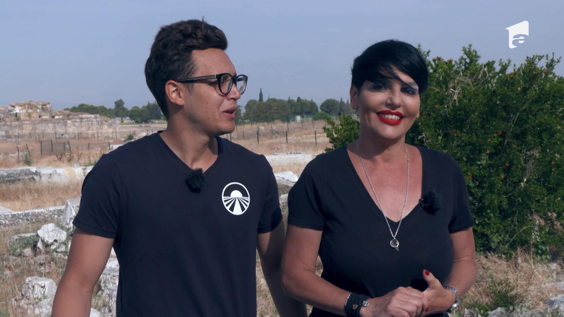 Patrizia şi fiul ei, Francesco, dezvăluie cum e să fii concurent la Asia Express