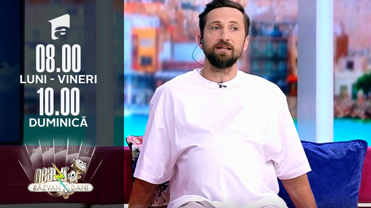 """Ce a trebuit să facă Dani Oțil, după un pariu pierdut cu soția lui: """"Are 11 kilograme. E un pepene real"""""""