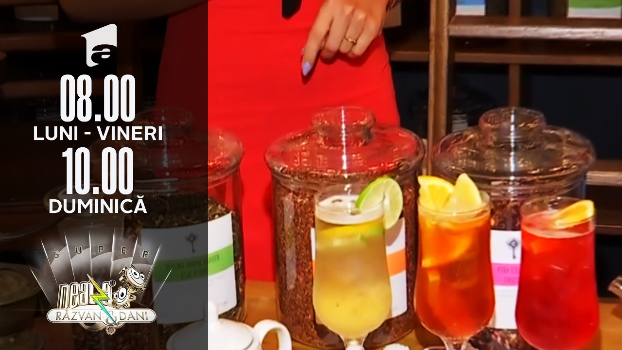 Super Neatza, 26 iulie 2021. Ceaiul rece, băutura ideală în zilele călduroase de vară