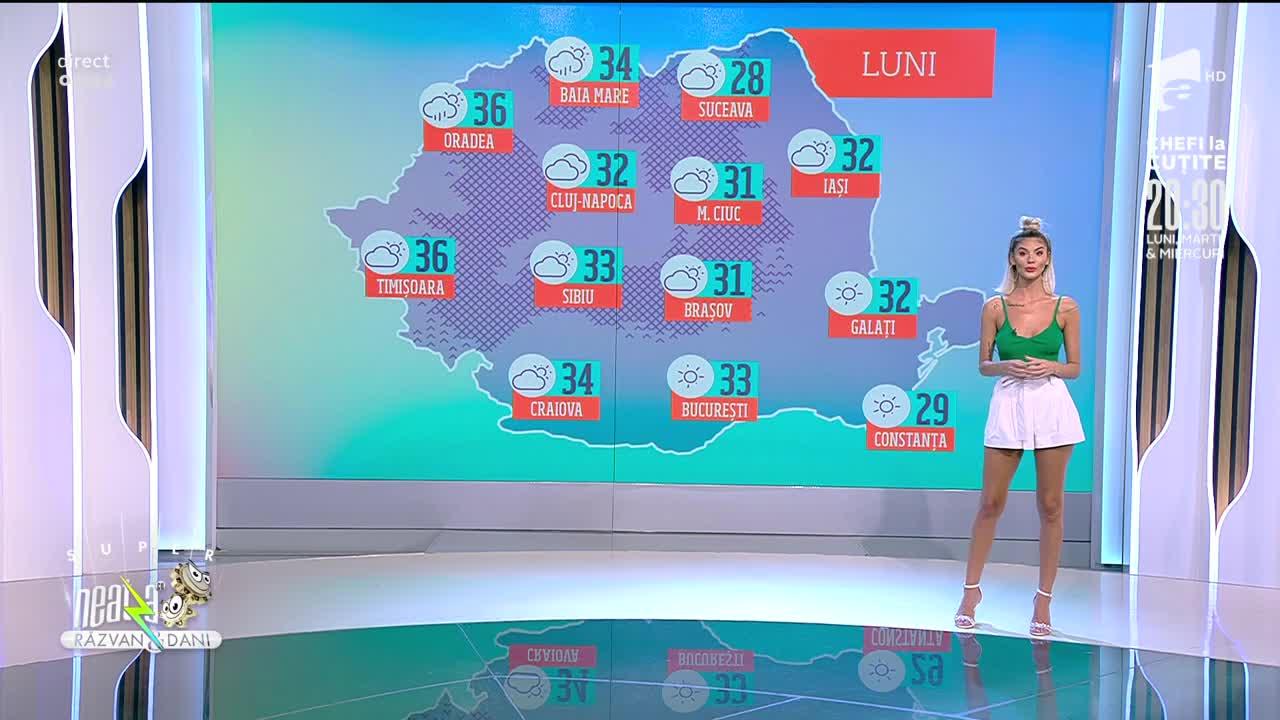 Super Neatza, 26 iulie 2021. Prognoza Meteo cu Ramona Olaru: Vremea va fi călduroasă în toată țara