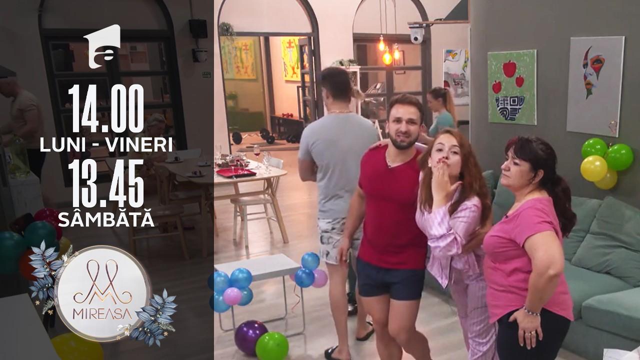 Mireasa, 27 iulie 2021, sezonul 3. Cosmina a fost sărbătorită în miez de noapte. Cum o surprinde Alin