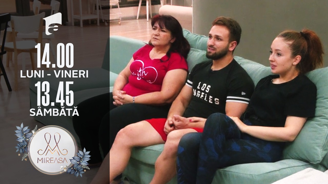 Mireasa sezonul 3, 29 iulie 2021. Alin, Cosmina și doamna Daniela, de vorbă cu publicul larg