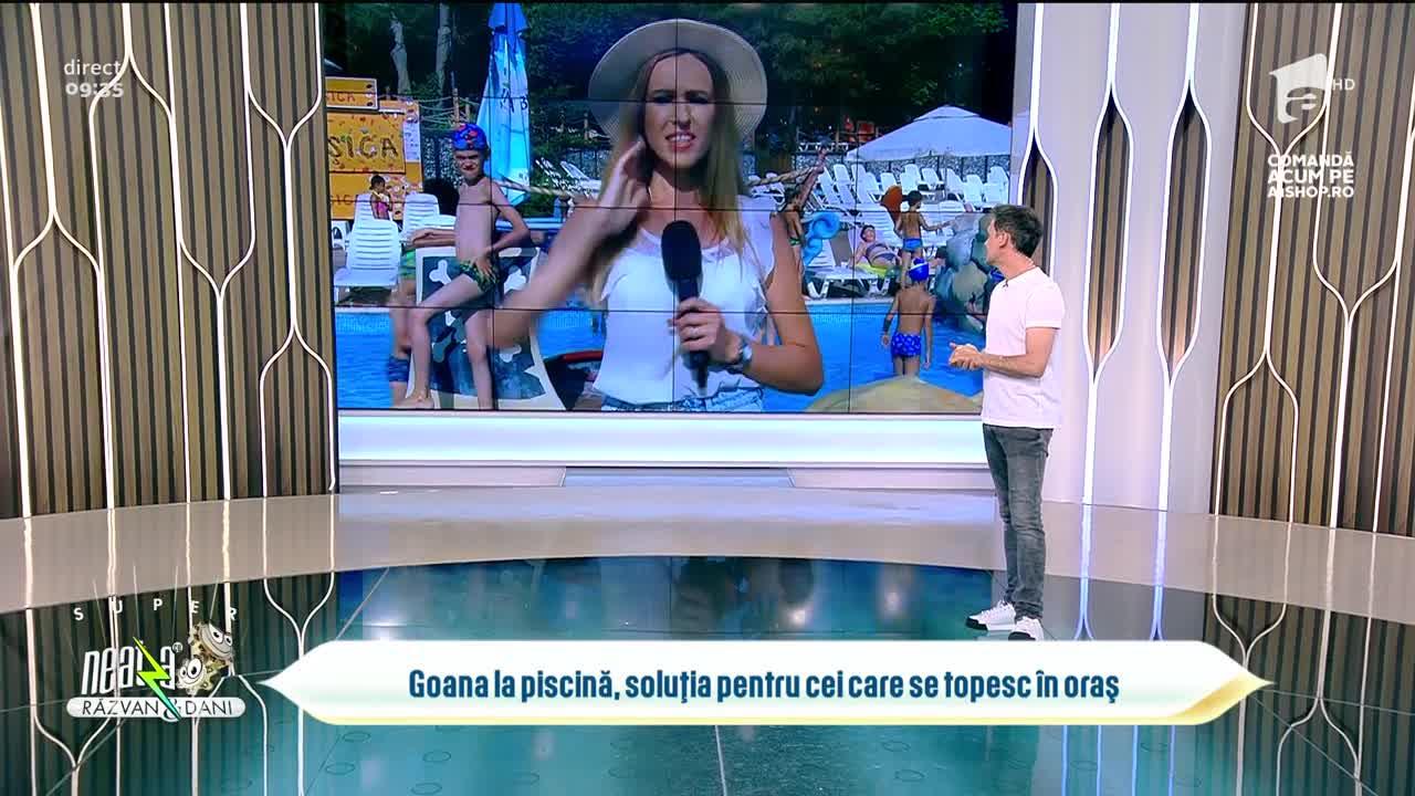 Super Neatza, 29 iulie 2021. Goana la piscină, soluția pentru cei care se topesc în oraș