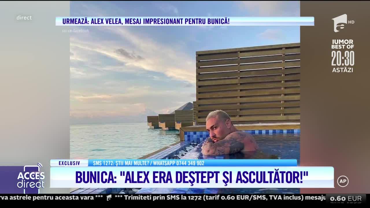 Acces Direct, 29 iulie 2021. Bunica lui Alex Velea face dezvăluiri de senzaţie