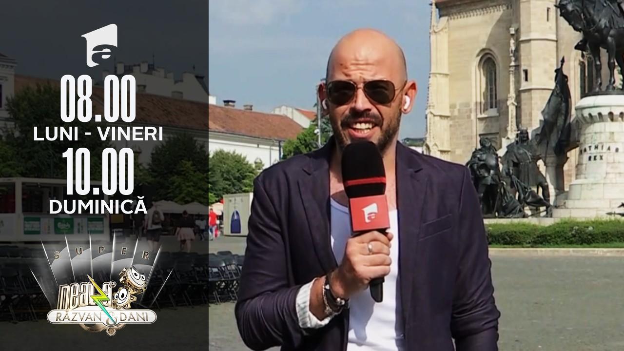 Super Neatza, 29 iulie 2021. Cătălin Anchidin, transmisiune de la Festivalul Internațional de Film Transilvania