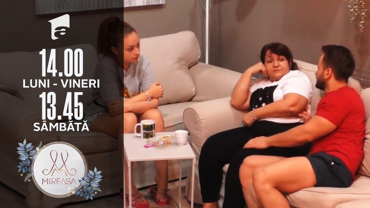 """Mireasa sezonul 3, 29 iulie 2021. Alin, luat la """"trei păzește""""! Doamna Daniela, manifestări călduroase"""