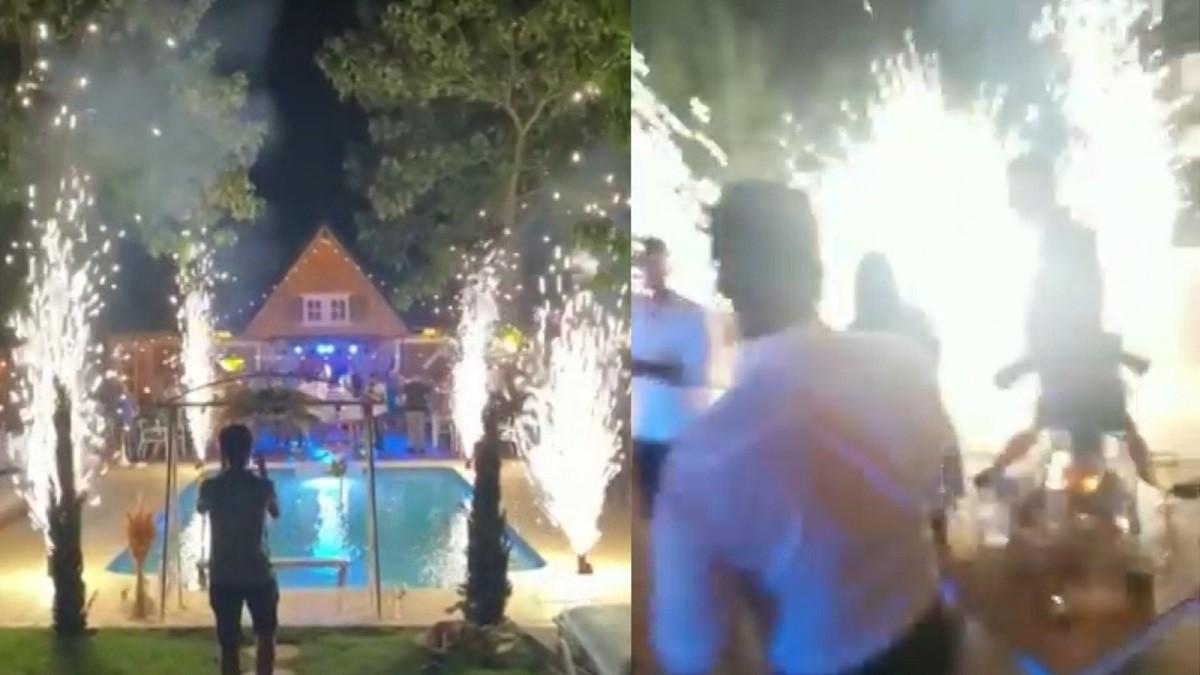 Artificii scăpate de sub control, la o nuntă în Dolj. Instalația a explodat la miezul nopții, patru petrecăreți au ajuns la spital