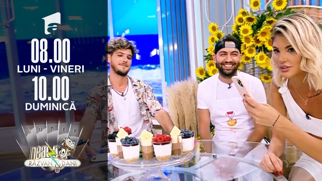 Neatza de Weekend, 1 august 2021. Elian Miţă, regele dulciurilor care face ravagii pe TikTok