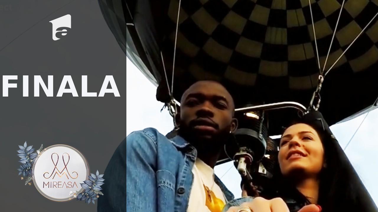 """Finala Mireasa sezonul 3, 1 august 2021. Izabela şi Blaze, """"fantasy date"""" în balonul cu aer cald!"""