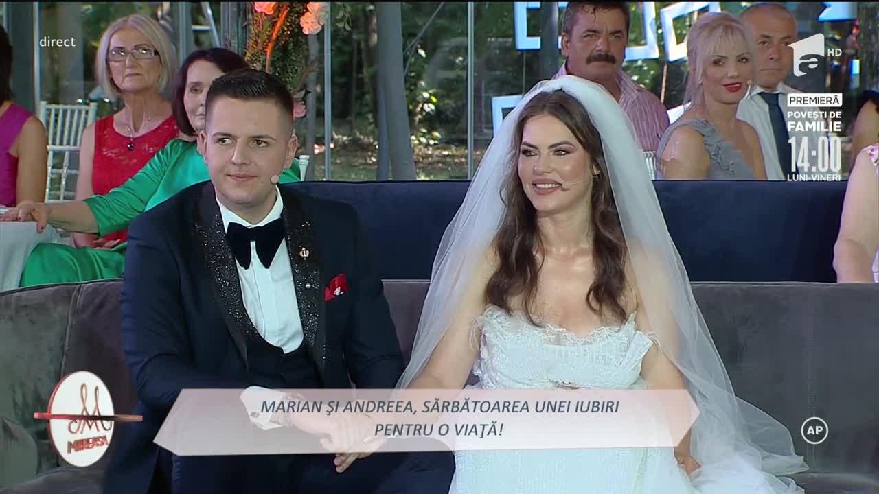 """Finala Mireasa, sezonul 3. Andreea şi Marian, """"fantasy date"""" cu elicopterul!"""
