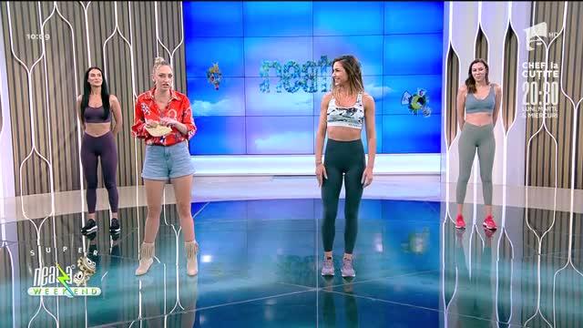 Neatza de Weekend, 15 august 2021. Fitness cu Diana Stejereanu! Antrenament de făcut pe plajă