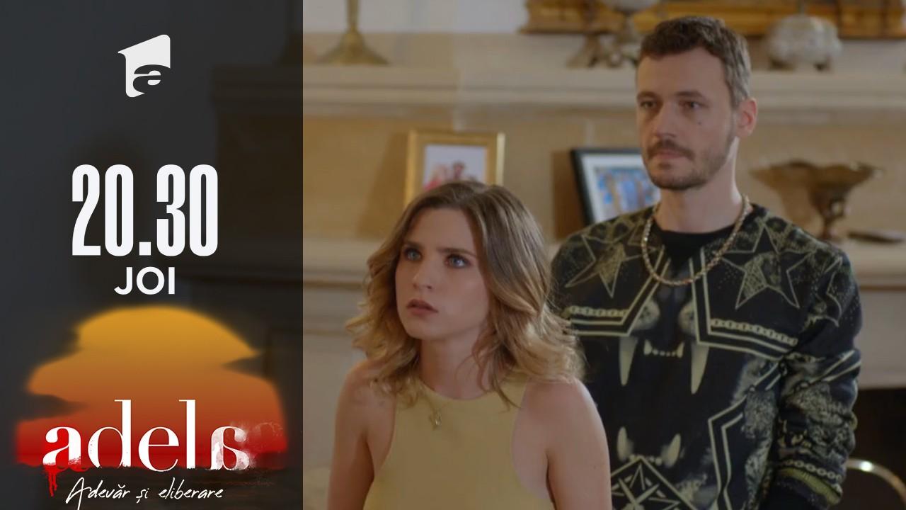 Adela sezonul 2, episodul 2, 19 august 2021. Livia și Adi au decis să locuiască împreună. Delia recurge la amenințări