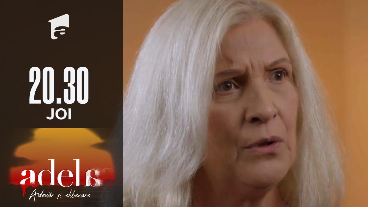 Adela sezonul 2, episodul 1, 19 august 2021. Delia și Paul află că Martha s-a prefăcut că este în comă: Vai, s-a trezit moarta!