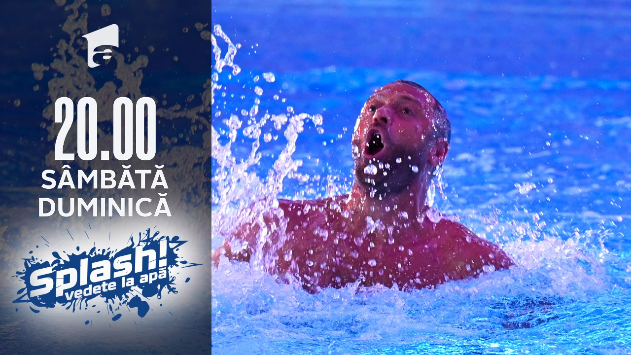 Splash! Vedete la apă, 21 august 2021. Cristi Pulhac a impresionat cu săritura lui de la zece metri