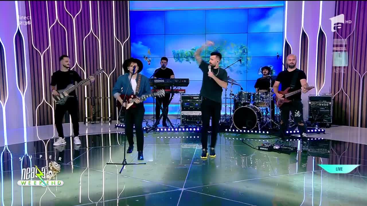 """Neatza de Weekend, 29 august 2021. Florin Ristei şi Adrian Petrache cântă LIVE piesa """"Give me one reason"""""""