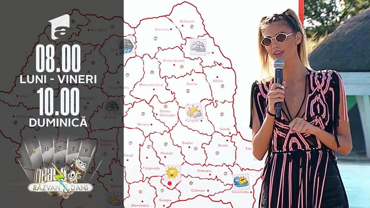 Super Neatza, 30 august 2021. Meteo cu Ramona Olaru: Vreme instabilă și rece