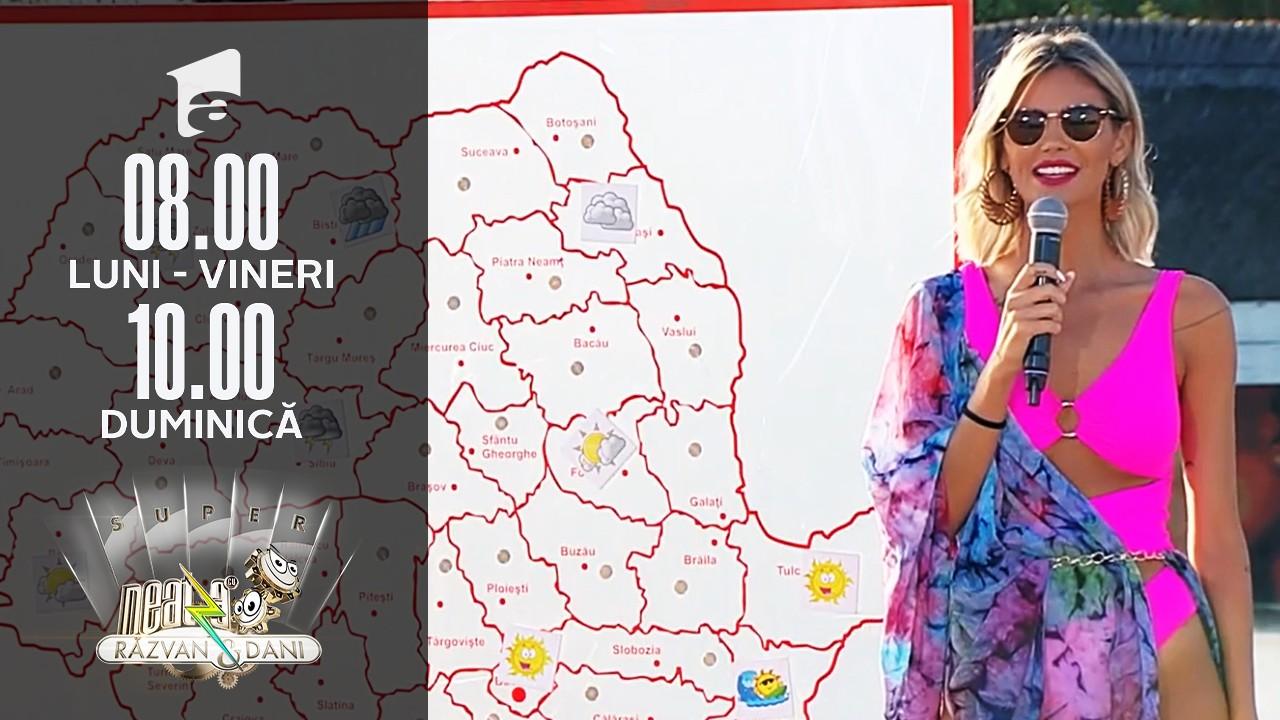 Super Neatza, 31 august 2021. Meteo cu Ramona Olaru: Bucureștenii au parte de soare
