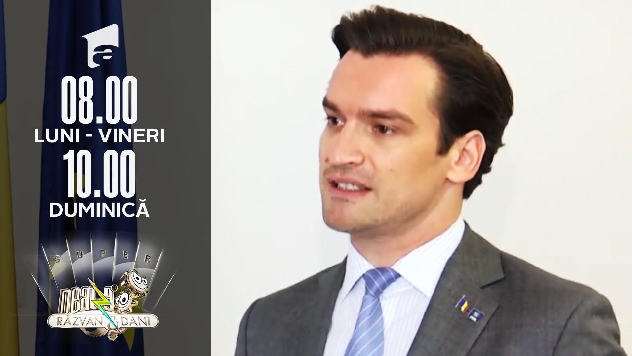 Super Neatza, 1 septembrie 2021. Andrei Baciu, secretar de stat în Ministerul Sănătății, în direct, la Super Neatza