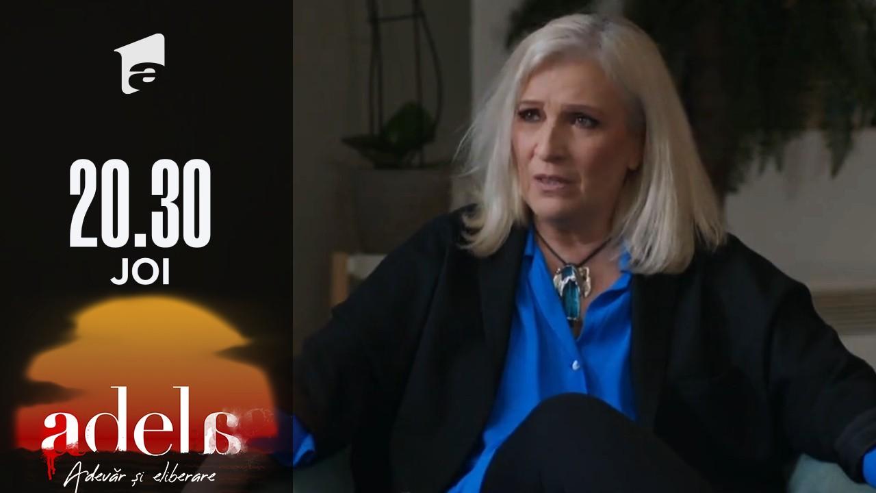 Adela sezonul 2, episodul 6, 2 septembrie 2021. Marta vrea să afle de la Gheorghe cine este copilul Amaliei și al lui Anghel